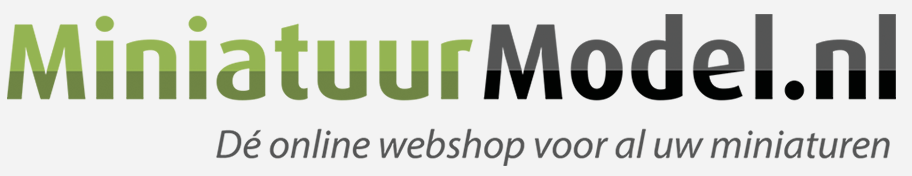 Minatuur Model | Online webshop voor miniatuur modellen